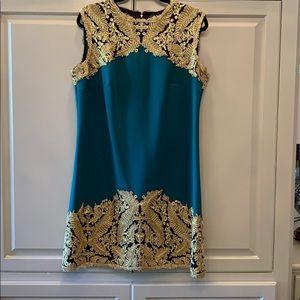 Tadashi Shoji dress.